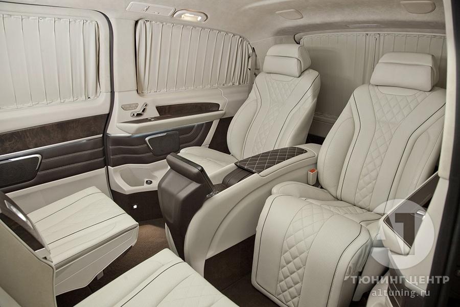 Комфортабельные сидения в автомобиль