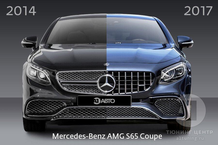 Рестайлинг Mercedes-Benz S65 Coupe