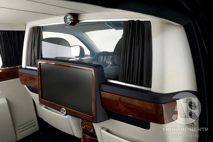 Тюнинг салона Rolls-Royce. Фото 4, A1 Тюнинг Центр