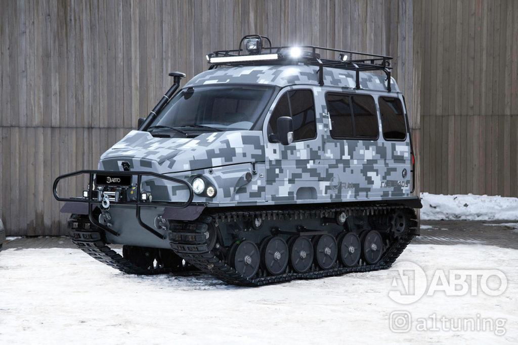 Тюнинг снегоболотоход ГАЗ-3409 БОБР. Фото 3, А1 Авто