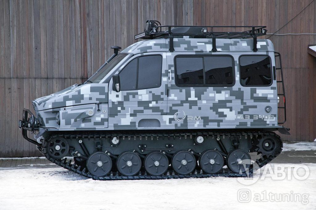 Тюнинг снегоболотоход ГАЗ-3409 БОБР. Фото 2, А1 Авто
