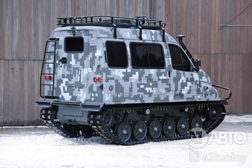 Тюнинг снегоболотоход ГАЗ-3409 БОБР. Фото 1, А1 Авто