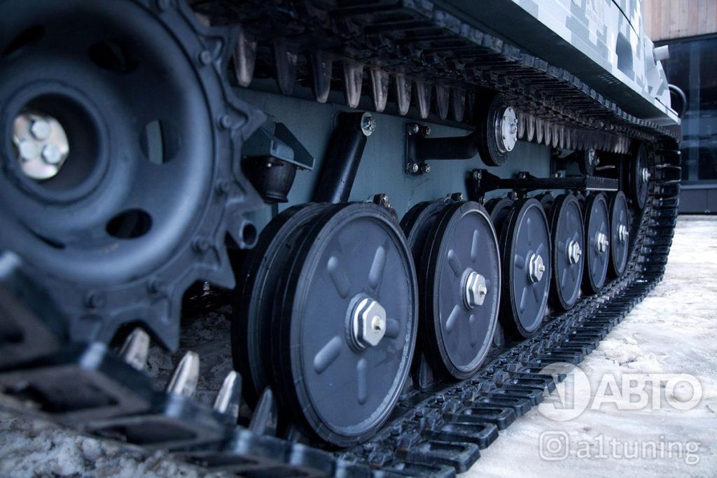 Тюнинг снегоболотоход ГАЗ-3409 БОБР. Фото 4, А1 Авто