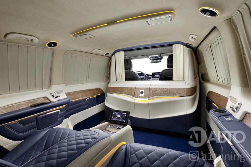 Cалон Mercedes Benz Viano VIP. Фото 3, А1 Авто.