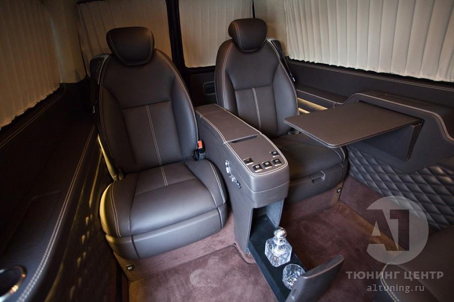 Тюнинг салона VW Multivan. Фото 1, А1 Авто