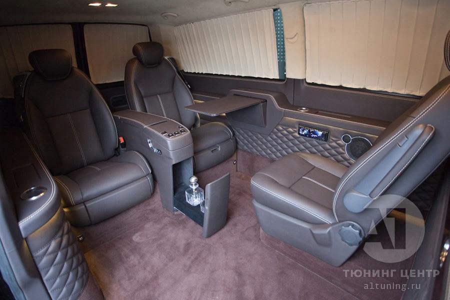 Тюнинг салона VW Multivan. Фото 2, А1 Авто