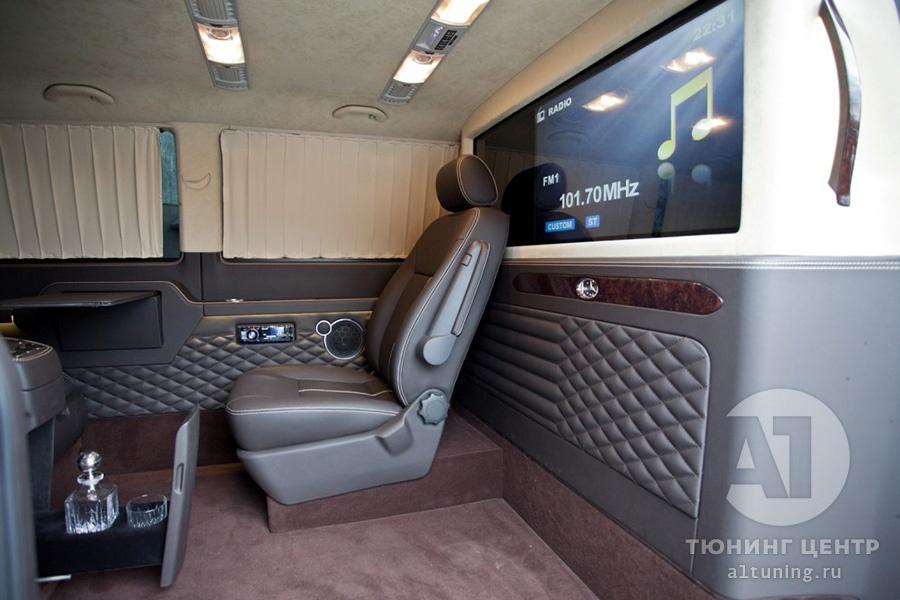 Тюнинг салона VW Multivan. Фото 4, А1 Авто