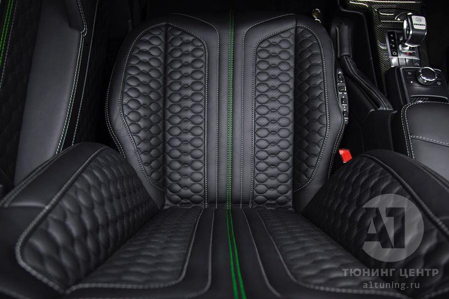 Тюнинг салона Mercedes Benz G-Class. Фото 12, А1 Авто