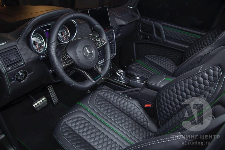 Тюнинг салона Mercedes Benz G-Class. Фото 17, А1 Авто