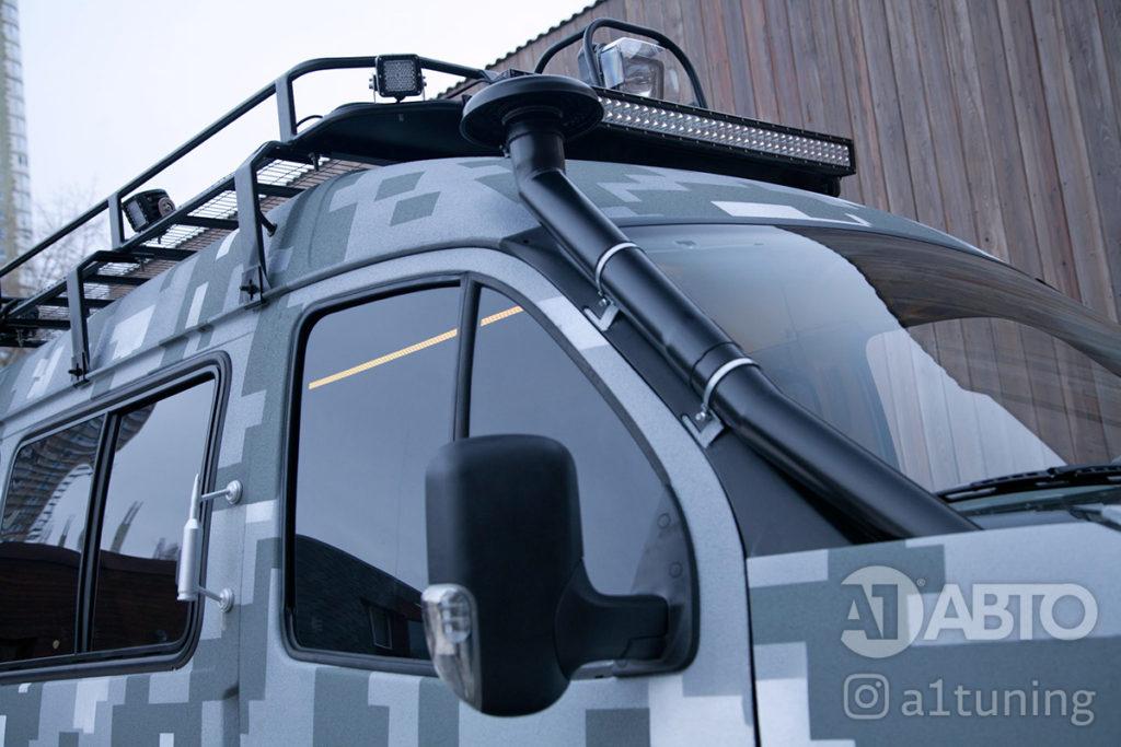 Тюнинг снегоболотоход ГАЗ-3409 БОБР. Фото 5, А1 Авто