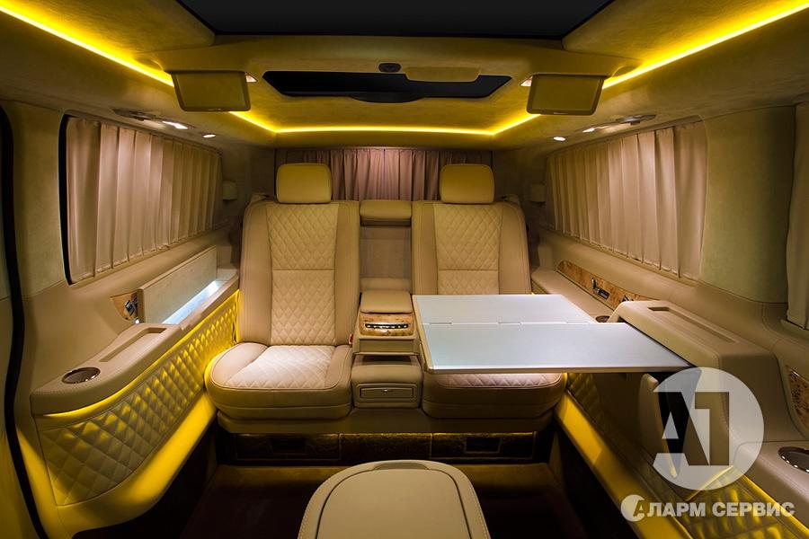 Тюнинг салона Mercedes Benz Viano VIP. Фото 13, A1 Тюнинг Центр