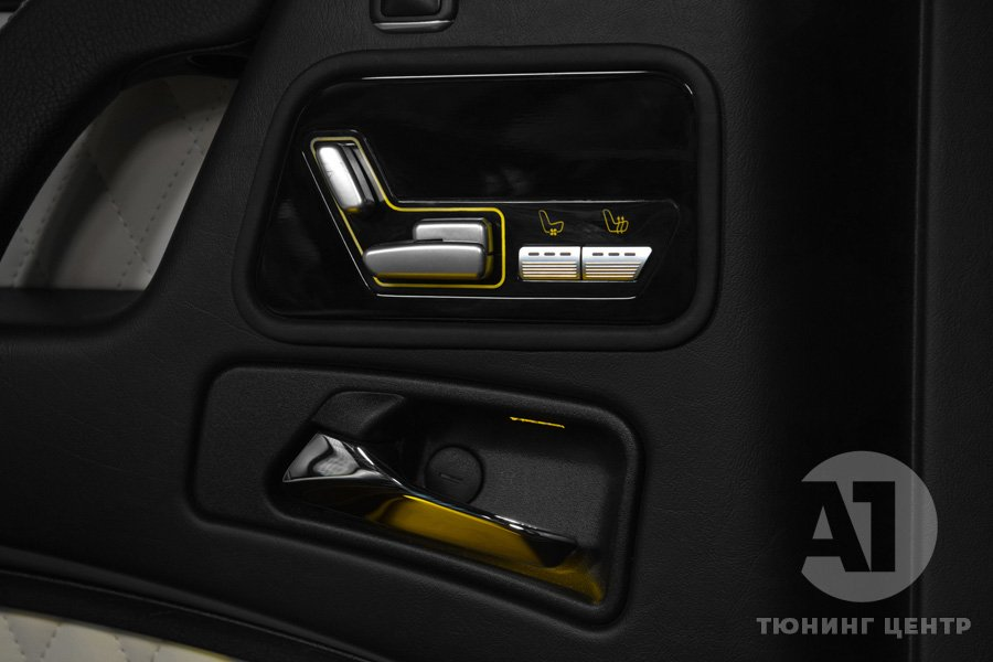 Тюнинг салона  G-class фото 8, А1 Auto