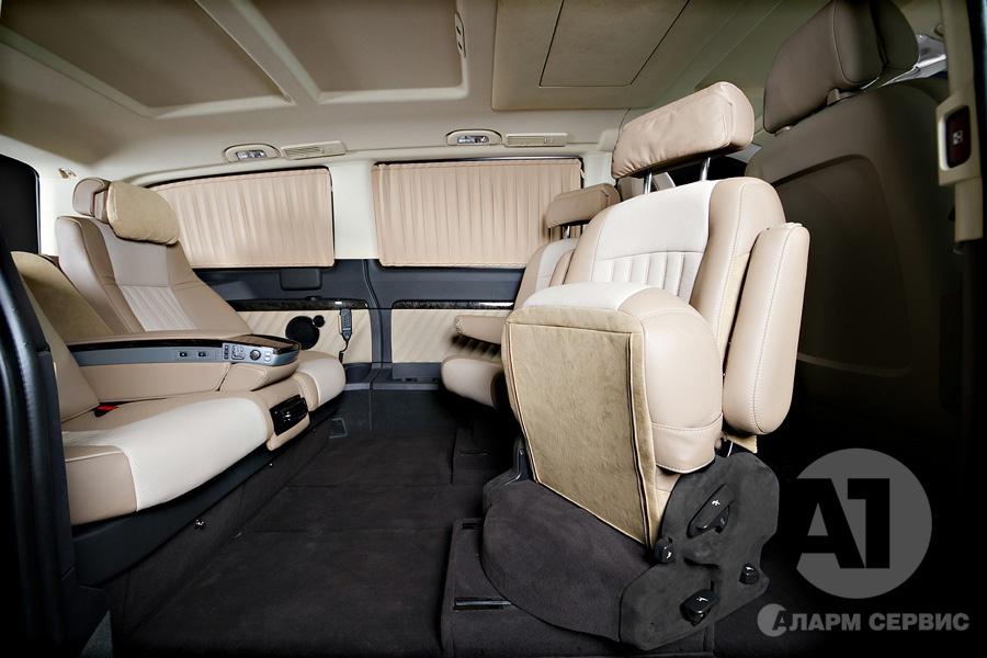 Фото кожаного салона Mercedes Benz Viano Buisness. A1 Auto