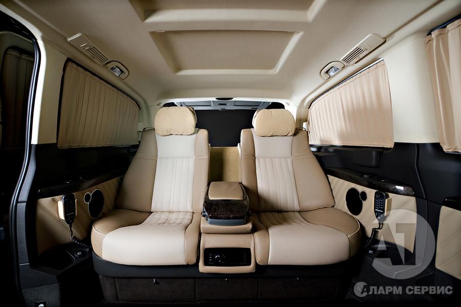 Фото кожаного салона Mercedes Benz Viano Buisness. A1 Тюнинг Центр
