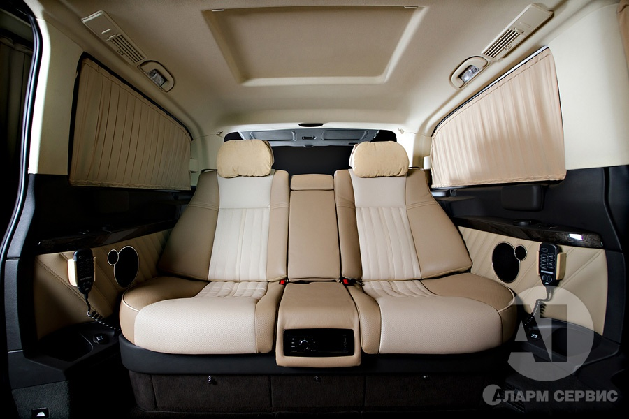 Тюнинг салона Mercedes Benz Viano Buisness. Фото 1, A1 Тюнинг Центр