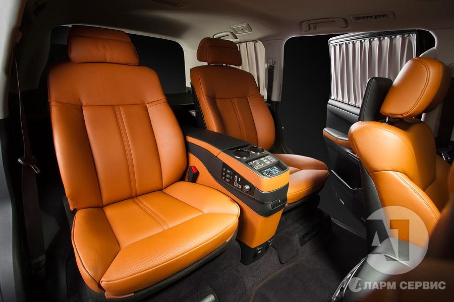 Тюнинг салона Lexus LX57. Фото 3, A1 Тюнинг Центр