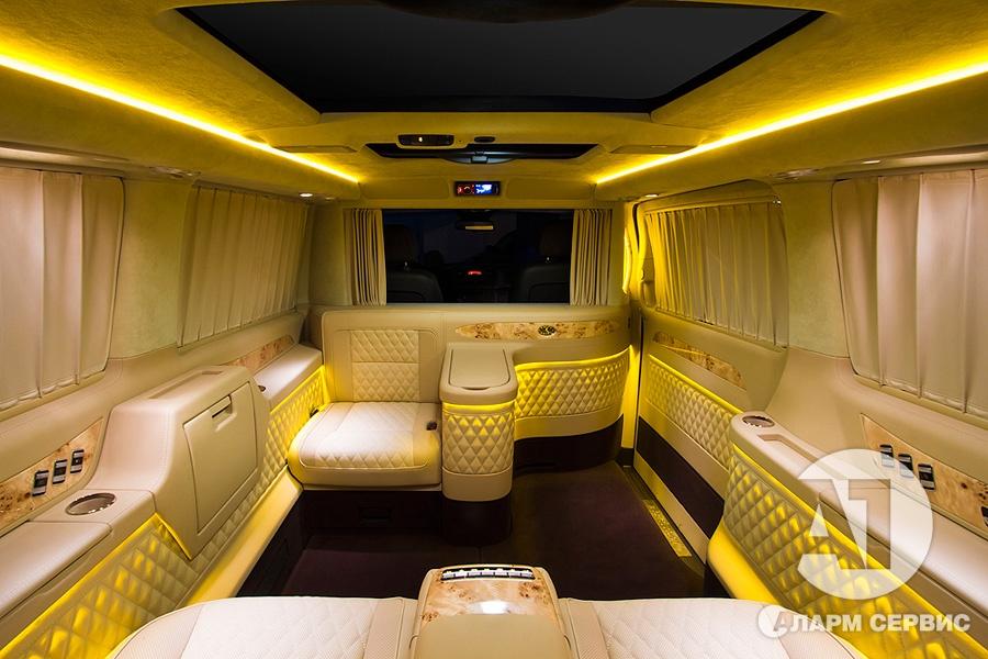 Тюнинг салона Mercedes Benz Viano VIP. Фото 15, А1 Авто