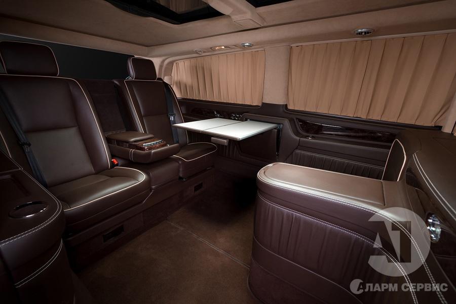 Тюнинг салона Mercedes Benz Viano VIP. Фото 12, А1 Авто