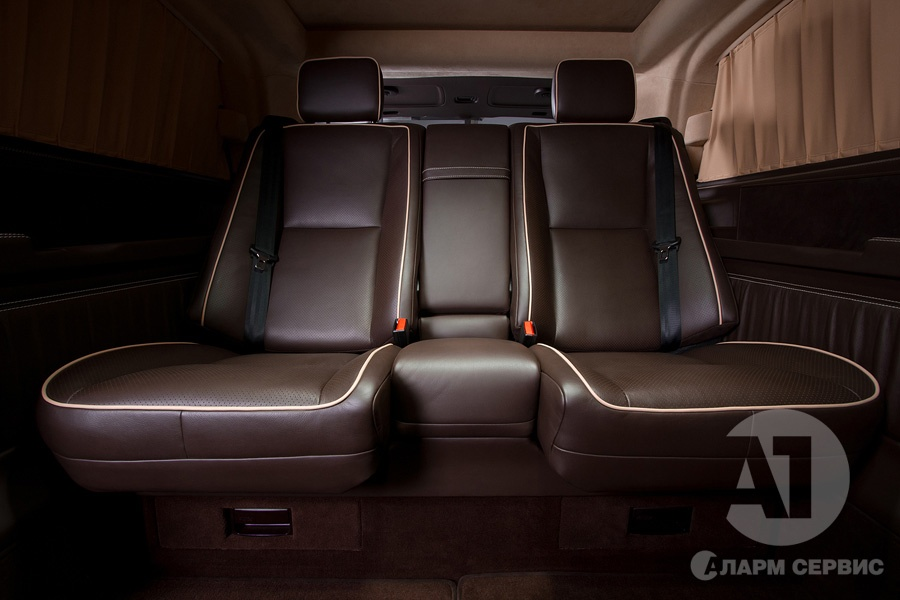 Тюнинг салона Mercedes Benz Viano VIP. Фото 13, А1 Авто