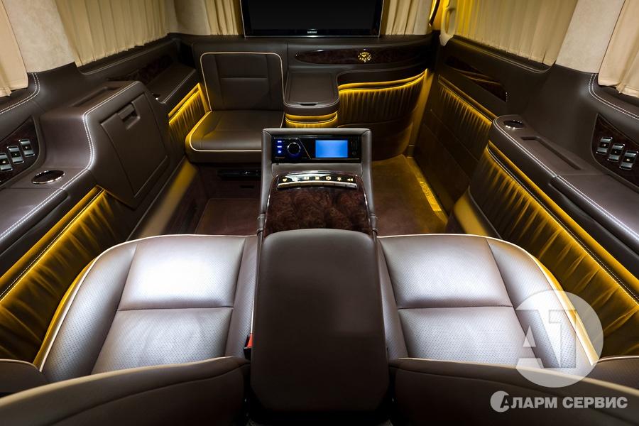 Cалон Mercedes Benz Viano VIP. Фото 5, А1 Авто.