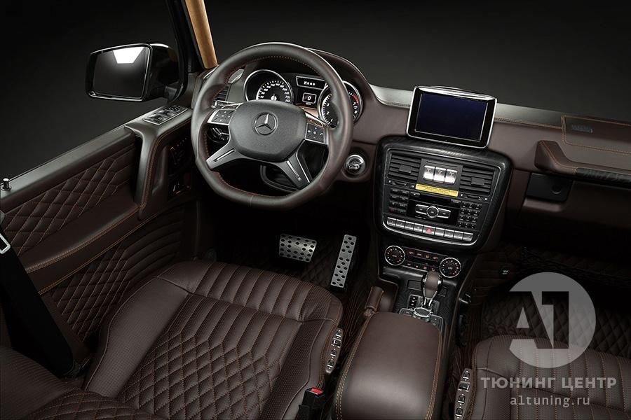 Тюнинг салона Mercedes Benz G-Class. Фото 14, А1 Авто