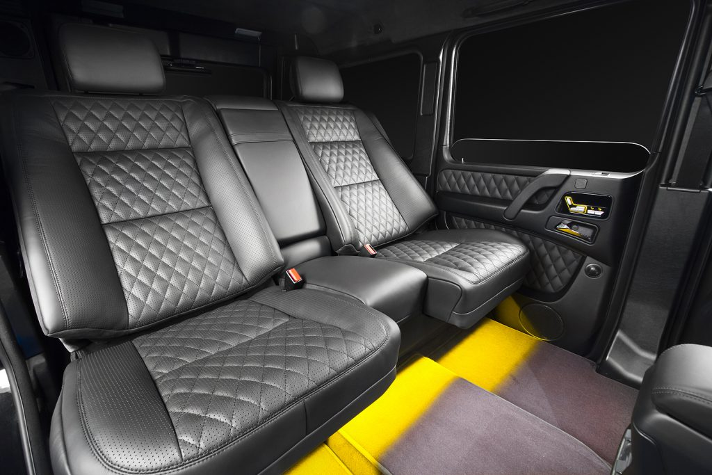 Тюнинг салона Mercedes Benz G63. Фото 1, A1 Тюнинг Центр