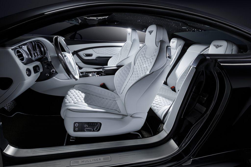 Тюнинг салона Bentley Continental GT V8 S Mulliner. Фото 1, А1 Авто