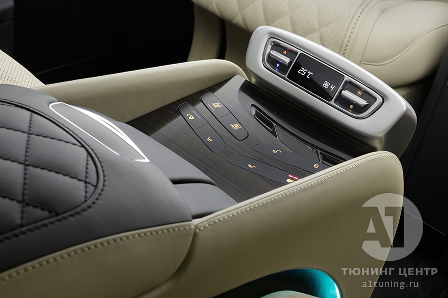 Тюнинг салона Mercedes Benz V-Class Chairman. Фото 1, А1 Авто