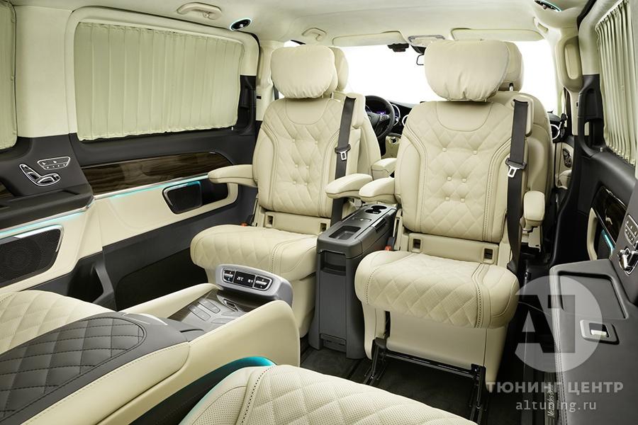 Тюнинг салона Mercedes Benz V-Class Chairman. Фото 2, А1 Авто