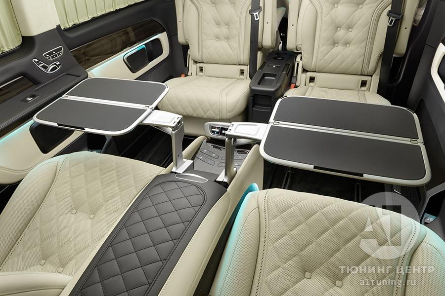 Тюнинг салона Mercedes Benz V-Class Chairman. Фото 3, А1 Авто