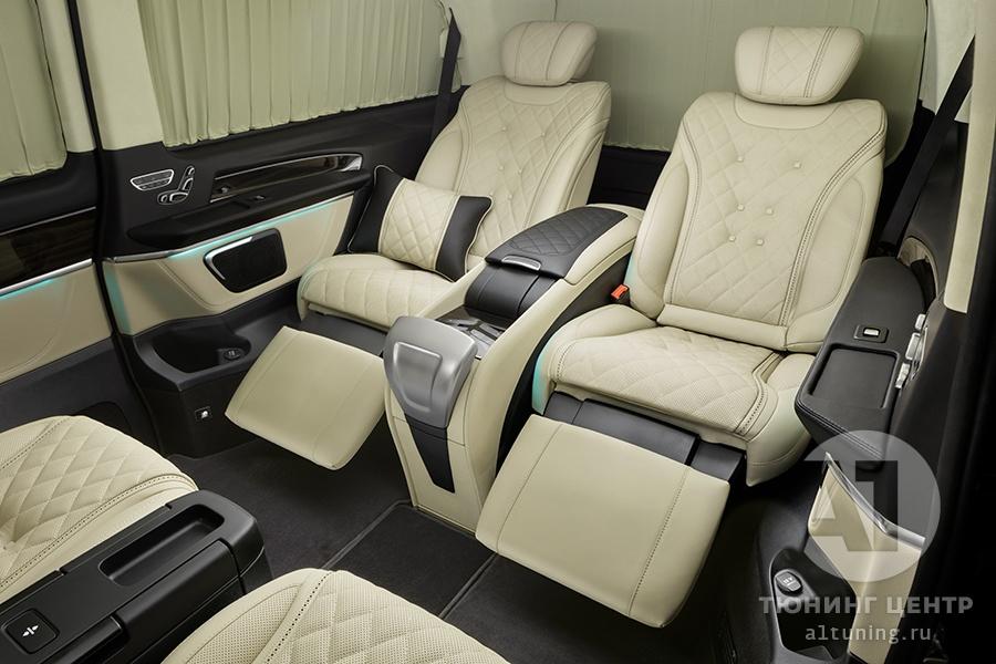 Тюнинг салона Mercedes Benz V-Class Chairman. Фото 4, А1 Авто