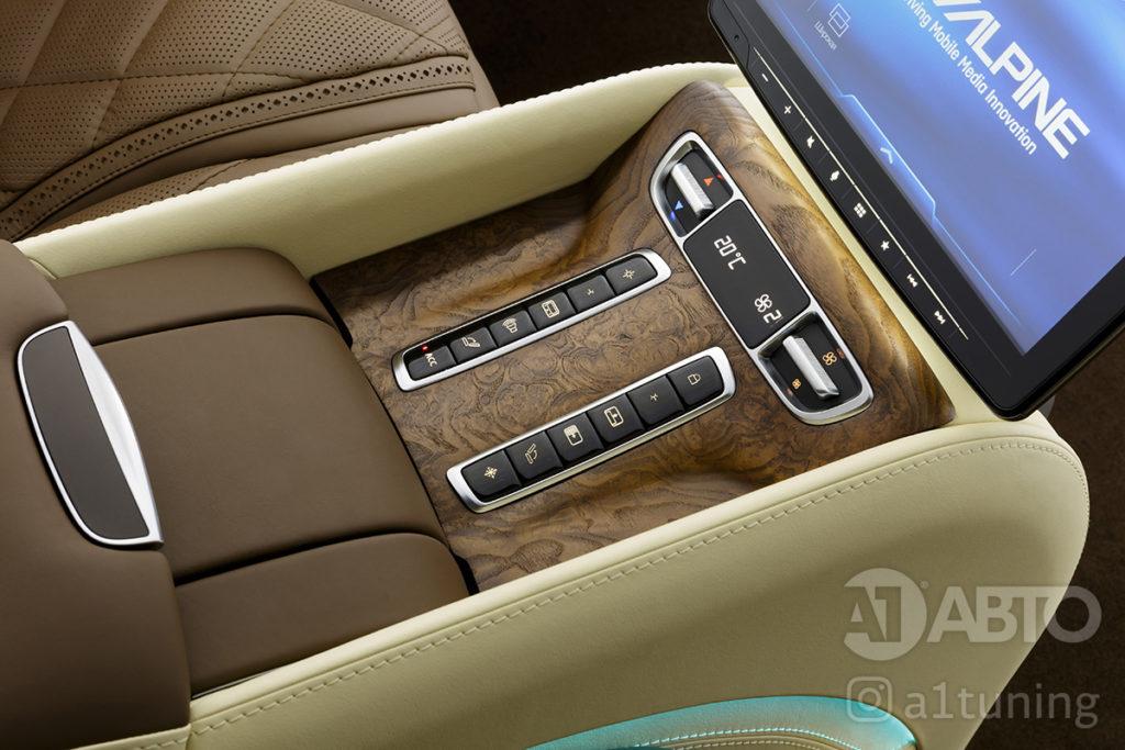Тюнинг салона Mercedes-Benz V-VIP фото 3, А1 Авто