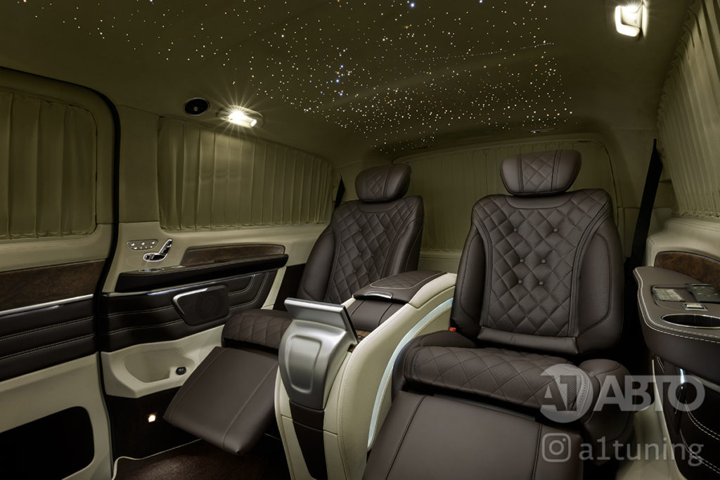 Mercedes Benz V-VIP. Звёздное небо.