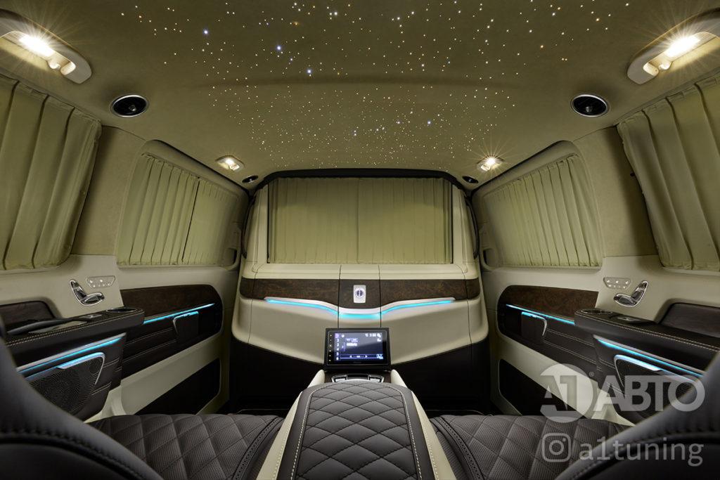 Звёздное небо в автомобиль, фото. A1 Auto