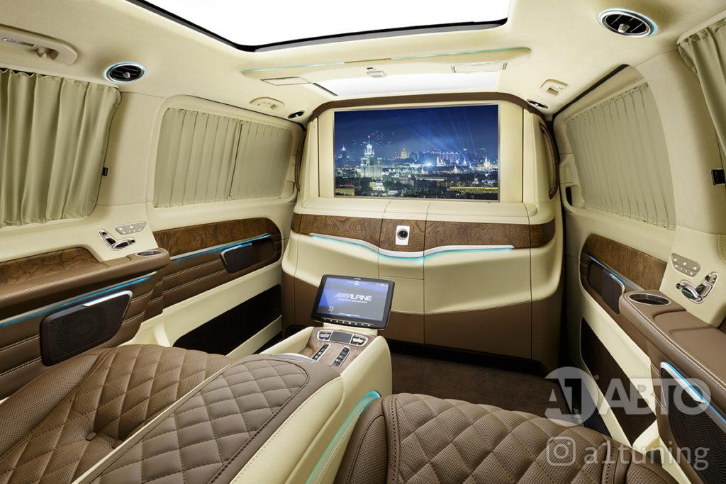 Тюнинг салона Mercedes Benz Viano VIP. Фото 2, А1 Авто