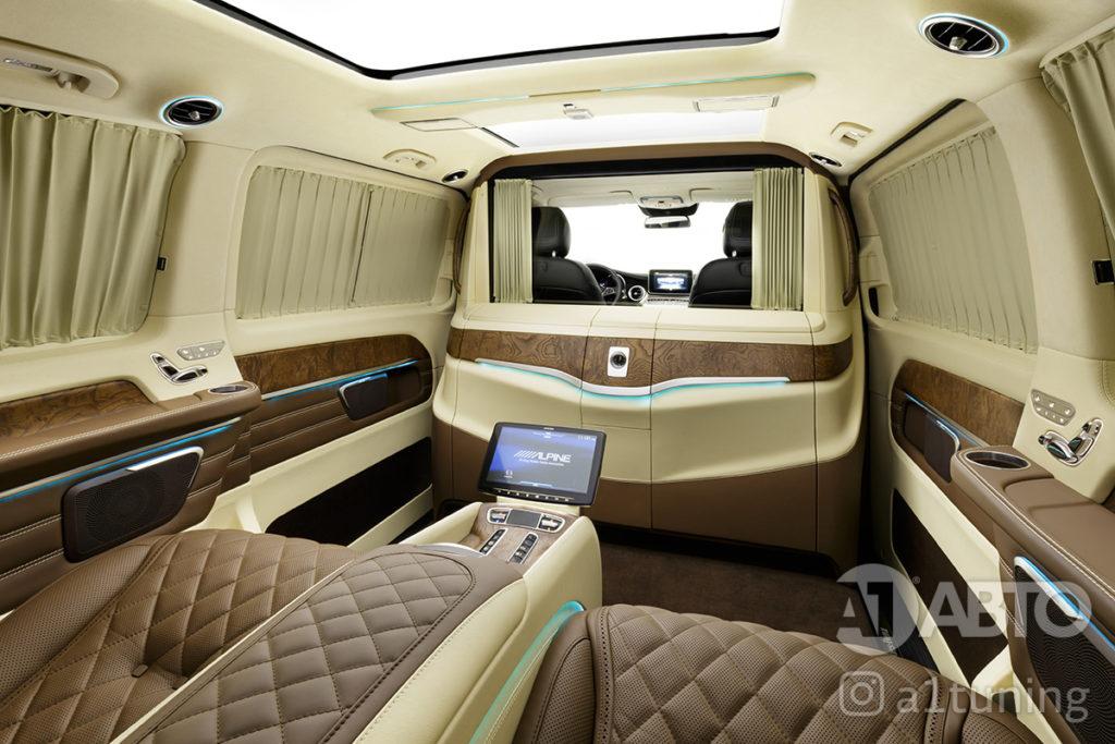 Фото салона Mercedes-Benz V-VIP. А1 Авто