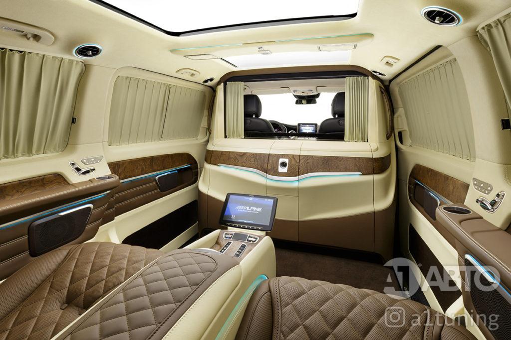Тюнинг салона Mercedes Benz Viano VIP. Фото 3, А1 Авто