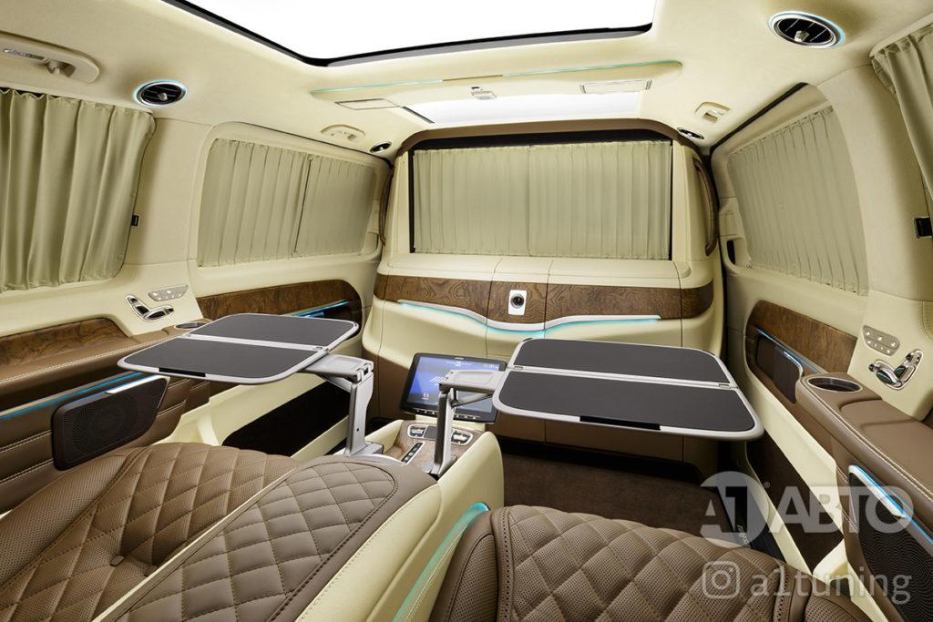 Тюнинг салона Mercedes Benz Viano VIP. Фото 4, А1 Авто