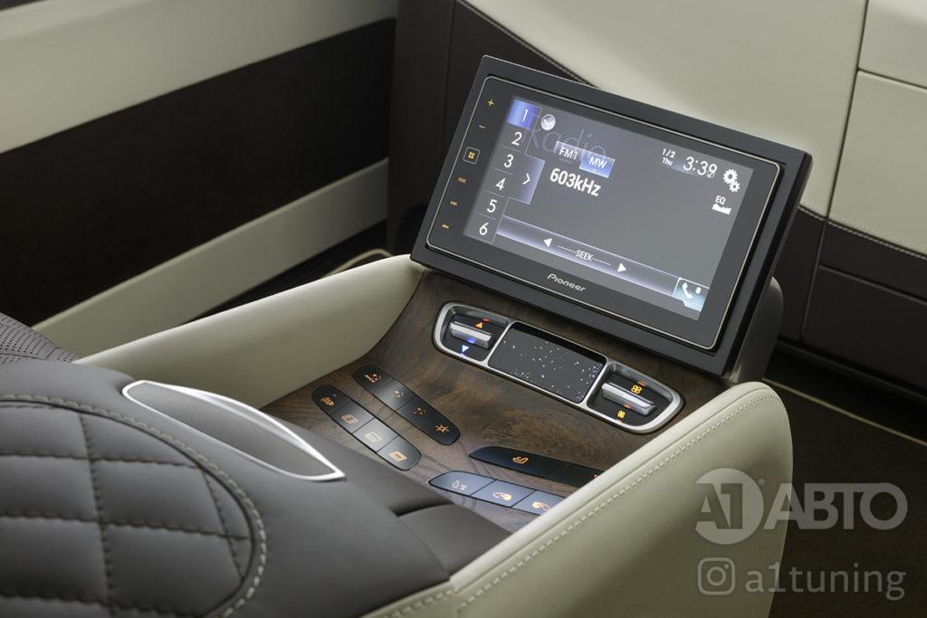 Тюнинг салона Mercedes Benz V-VIP. A1 Auto