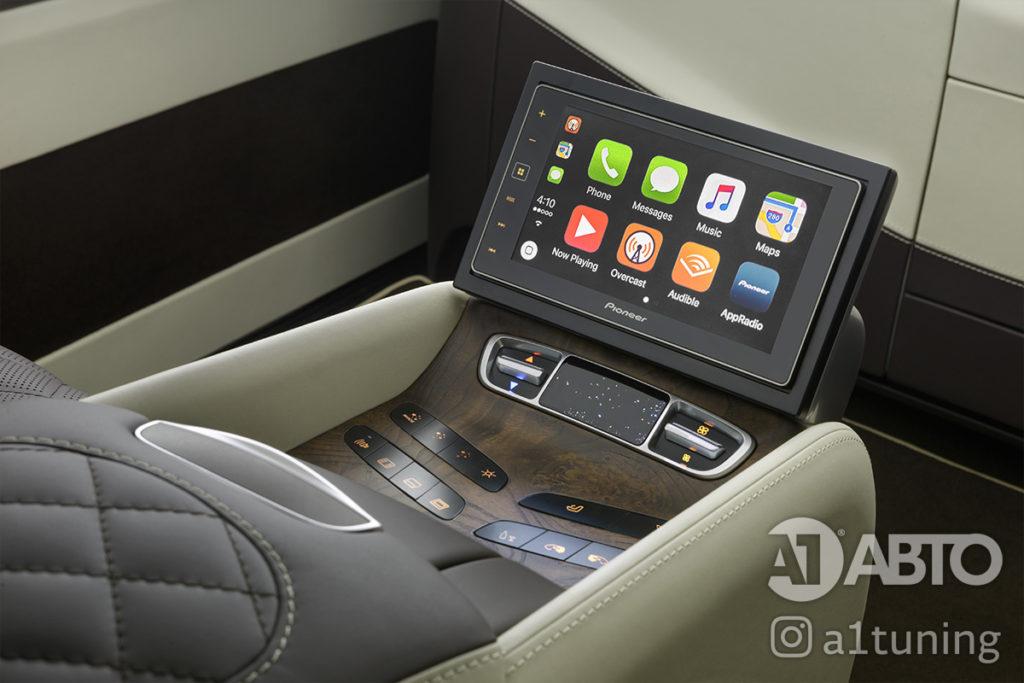 Тюнинг салона Mercedes Benz V-VIP.