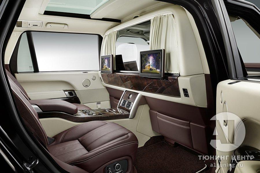 Тюнинг Range Rover — Перегородка между водителем и пассажиром. А1 Авто
