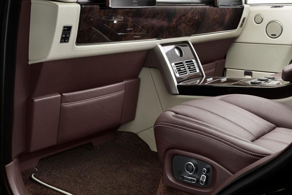 межсалонная перегородка в Range Rover. А1 Авто