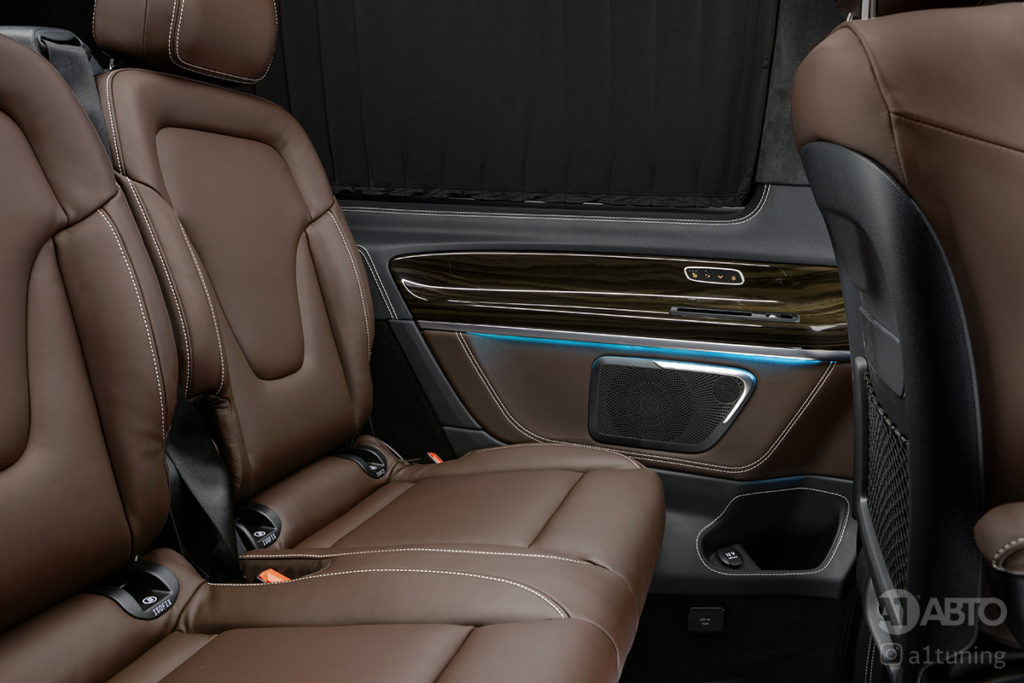 Тюнинг салона Mercedes Benz V-Class. Фото 6, А1 Авто