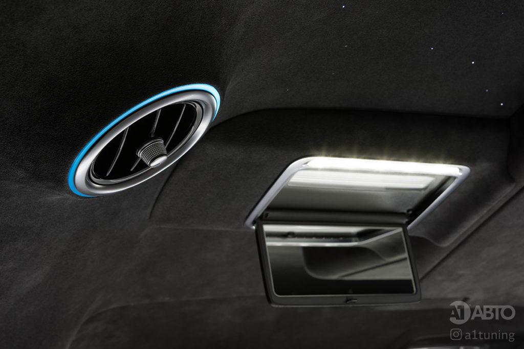 Тюнинг салона Mercedes Benz V-Class. Фото 8, А1 Авто