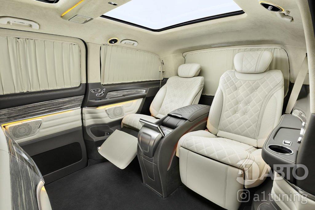 Тюнинг салона Mercedes Benz V-VIP. Фото 1, А1 Авто