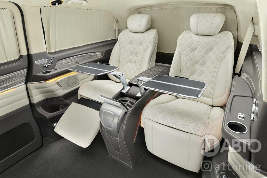 Тюнинг салона Mercedes Benz V-VIP. Фото 2, А1 Авто