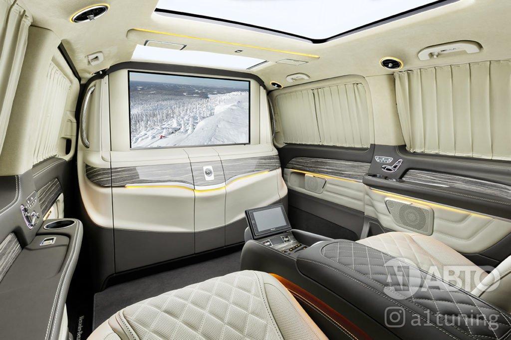 Тюнинг салона Mercedes Benz V-VIP. Фото 3, А1 Авто