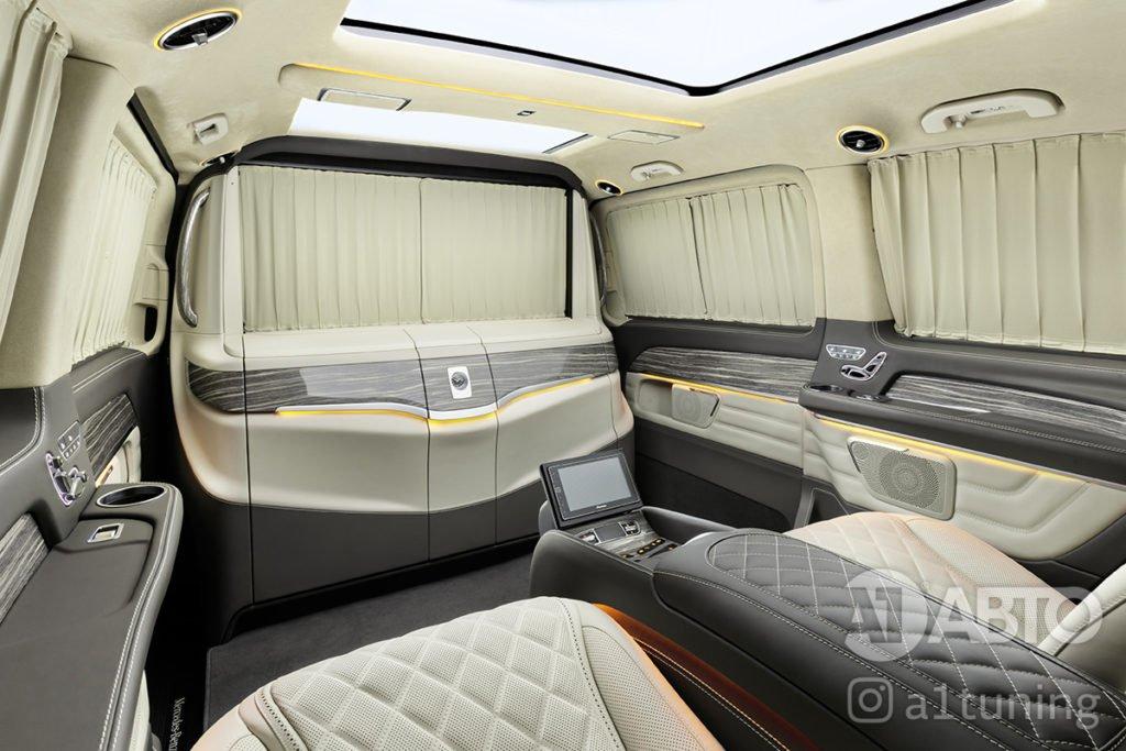 Тюнинг салона Mercedes Benz V-VIP. Фото 1, A1 Auto