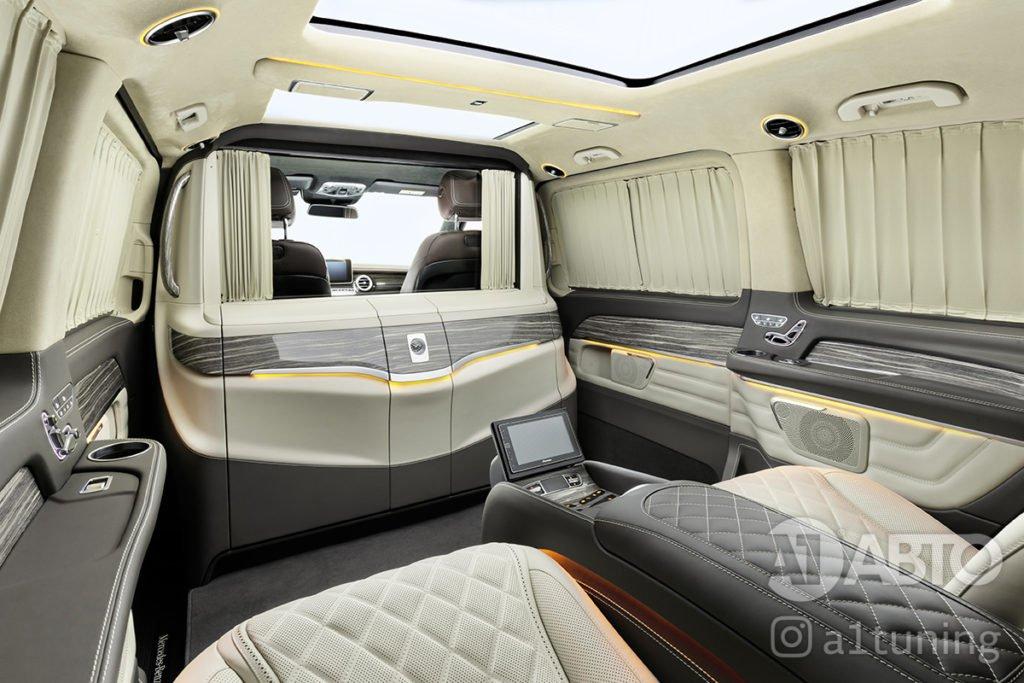 Фото кожаного салона Mercedes Benz Viano VIP. A1 Auto
