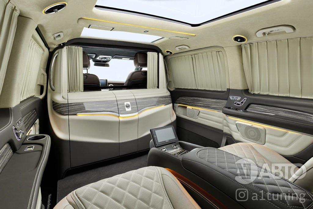 Фото кожаного салона Mercedes Benz Viano VIP. А1 Авто